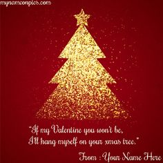 Want to Merry Xmas Tree Quotes 2018 Image With Name Online? Write Name On Happy Merry xmas tree 2018 Images, Photos Creative Christmas Trees, Christmas Design, Christmas Holidays, Diwali Greeting Cards, Anniversary Greeting Cards, Red Christmas Background, Red Background, Birthday Card With Name, Diwali Pictures