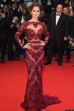 Cheryl Cole in Zuhair Murad - 2013 Cannes Film Festival