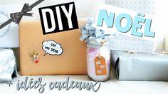 DIY & ASTUCES de NOËL : Deco et Idées Cadeaux / CHRISTMAS HACKS Diy Cadeau Noel, Oh Deer, Diy Christmas Gifts, Gift Wrapping, Hacks, Deco, Easy Gifts, Gift Ideas, Christmas Wrapping