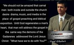 christian quotes | carnal | unconverted | Paul Washer quotes Paul Washer Quotes, Give Me Jesus, The Heart Of Man, The Brethren, Christians, Christian Quotes, Give It To Me, Lord, Passion