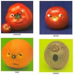 Food Humor, Funny Food, Orange, Fruit, Feelings, Health, Videos, School, Social Skills