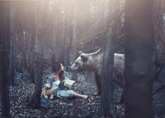 Rosie Hardy Escapes into Fantasy Worlds Through Her Self Portraits (12 pictures)