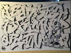 A B C D E F G H I J K L M N O P Q R S T U V W X Y Z Graffiti Text, Graffiti Lettering Alphabet, Graffiti Alphabet Styles, Graffiti Writing, Graffiti Wall Art, Tattoo Lettering Fonts, Graffiti Characters, Alphabet Art, Street Art Graffiti