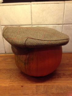 Vintage Saxony Twist wool cap size Medium 67/8 UK made