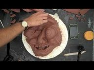 Video: Clay slab mask; high school lesson but interesting for all to watch; 6:52