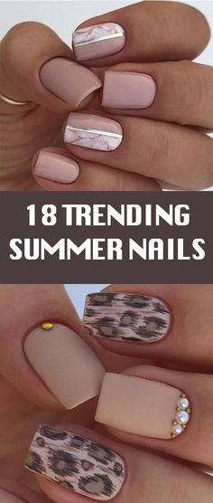 18 Trending Summer Nail Designs 2018. leopard kinky design, shellac, spring 2018, first love nail polish, ncla, Zapora, OPI