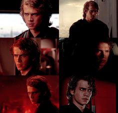"""Yet in his eyes, all the sadness of the world. Those pleading eyes, that both threaten and adore."" Anakin Skywalker"