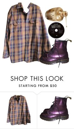 """Untitled #296"" by iuchykate ❤ liked on Polyvore featuring Timberland and Dr. Martens"