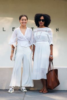 Solange Knowles Concert Street Style All White Outfits