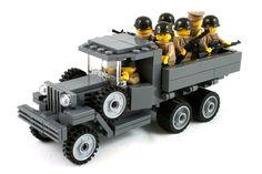 Lego Soldiers, Lego Ww2, Lego Army, Star Wars Clone Wars, Lego Star Wars, Lego Knights, Lego Truck, Lego Vehicles, Lego System