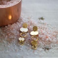 Solar System earrings by Shlomit Ofir