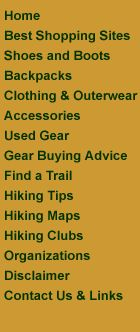 backpacking gear site...