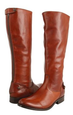 Currently on sale! Frye Boots | Melissa Back Zip