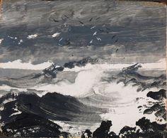 Le Prince Lointain: Peder Balke (1804-1887), La Tempête - 1862