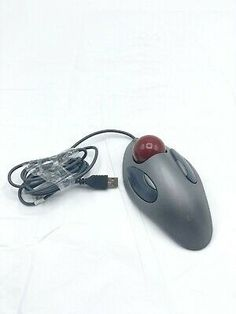 Logitech Track Ball Usb Marble Mouse T Bc21 In 2020 With