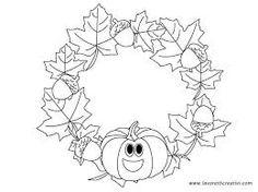 Výsledek obrázku pro podzimní výzdoba k vytisknutí Autumn Crafts, Fall Crafts For Kids, Summer Crafts, Art For Kids, Monkey Crafts, Fall Coloring Pages, Easy Halloween Decorations, Crafts For Seniors, Hand Applique