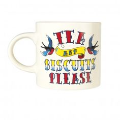 Tea And Biscuits Please Mug
