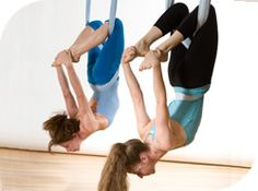 Ready to try this Friday! fun aerial yoga classes will help you to gain flexibility, decompress the spine in addition to receiving a total body workout Videos Yoga, Fitness Home, Anti Gravity Yoga, Air Yoga, Aerial Yoga Hammock, Yoga Kurse, Yoga Moves, Yoga For Weight Loss, Yoga Challenge