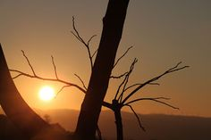 Il giorno ormai scompare: Il tramonto....