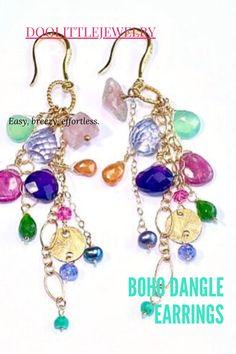 Tourmaline Jewelry, Gemstone Jewelry, Dainty Earrings, Dangle Earrings, Special Deals, Gemstone Colors, Fun Learning, Birthstones, Chains