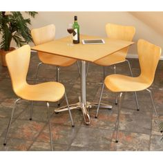 View larger: Roca Beech Bistro Set Dining Chairs, Dining Table, Unique Restaurants, Red Moon, Bistro Set, Conference Room, Larger, Furniture, Home Decor