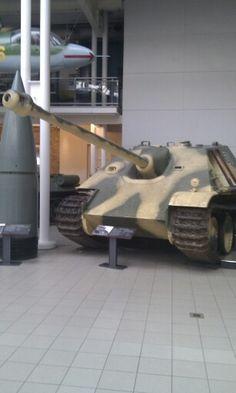 Jagdpanther at the IWM London