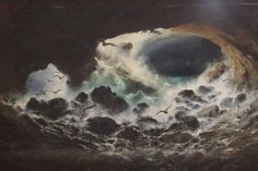 Karl Wilhelm Diefenbach ~ Symbolist and Art Nouveau painter Moonlight Painting, Spirit World, 10 Picture, Magic Art, Fantastic Art, Pictures Of You, Les Oeuvres, Art History, Art Nouveau