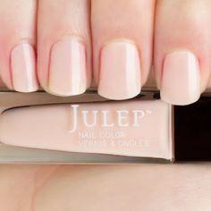 Thumbnail Swatch Of Sheer Soft Pink Creme Nail Polish