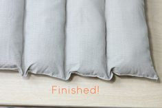 DIY Pets: A Five Dollar Dog Bed http://www.thediyadventures.com/2013/08/16/diy-pets-a-five-dollar-dog-bed/