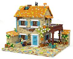 ~ Lego MOCs City ~ Provence house | by oms5134