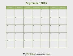 Free Printable Calendar September 2020 It's New Year and we have another great design and template of our calendar for this 2020 and in th. August Calendar, 2016 Calendar, Free Printable Calendar, Free Printables, September, Templates, Projects, Models, Blue Prints