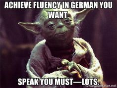 Yoda - Just Trifling These Hoes Are German Resources, Yoda Quotes, Star Wars Quotes, Learn German, Papi, German Language, English Words, Ancient Greece, Ottawa