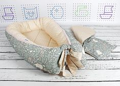 Baby nest Grey Fox Double-sided baby nest Baby lounger Co The Farm, The Animals, Car Seat Blanket, Swaddle Blanket, Snuggle Nest, Baby Nest Bed, Pose, Co Sleeper, Nursing Pillow Cover