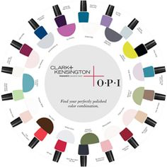 Take a spin , and see what you come up with . OPI and Ace's Clark+Kensington collection!