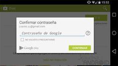 Google Play ahora solicita por defecto la contraseña para todas las compras http://www.xatakandroid.com/p/112825