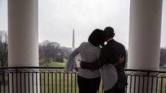 Michelle Obama partilhou momento de despedida da Casa Branca