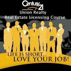 Your not just signing up for a Real Estate Course to get your License.. Your getting an entire career plan from Training, to Passing your State Exam to getting hired at the most recognized name in the Real Estate Industry Century 21 Union. Register Today! www.c21union.com