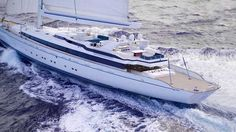 #superyacht Designer Ron Holland lets us in on the ex-Mirabella V look. What's your take in this.
