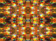 Prizm Eyez kaleidoscope psychedelic rainbow glasses -- in a lamp store!  #prizm