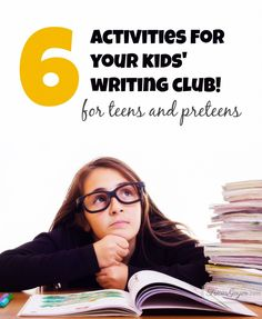 writing club for teens
