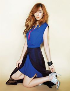 Jessica in a photo from a magazine photos shoot.