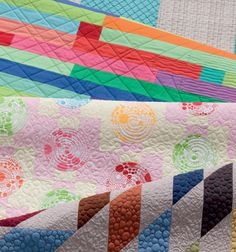 Free-motion favorites and walking-foot wonders? Sign us up! From Machine Quilting with Style by Christa Watson.