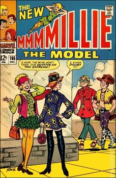 Cover by Stan Goldberg - Millie The Model -
