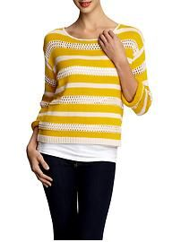 A+RO - Jess striped pullover sweater