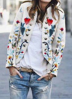 Petite Fashion Tips Long sleeve high neckline pockets coat comfortable christmas sale.Petite Fashion Tips Long sleeve high neckline pockets coat comfortable christmas sale. Mode Outfits, Casual Outfits, Fashion Outfits, Womens Fashion, Jackets Fashion, Petite Fashion, Modest Fashion, Fashion Tips, Look Blazer