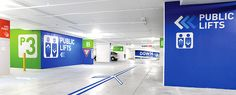 World Square Carpark – Signage + Wayfinding on Behance