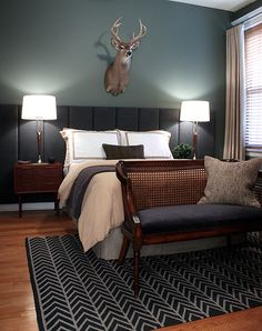Love it MINUS THE HEAD OVER THE BED!  Just a little creepy... the rest I LOVE.