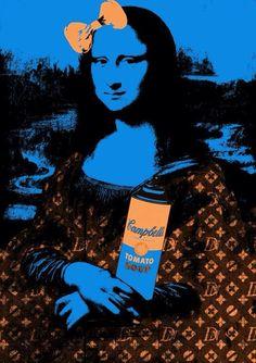Mona Soup Orange Blue by Death NYC (2012)