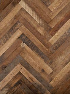 Reclaimed Oak Herringbone Wood Floor By Lv