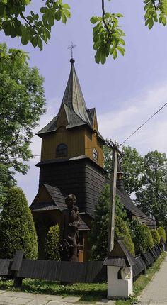 Wooden Church, Bukowina Tatrzanska, Poland